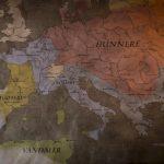 stillbilde - rex barbaricum - folkevandring - kart over europa
