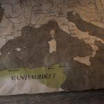 stillbilde - rex barbaricum - folkevandring - kart over afrika og europa